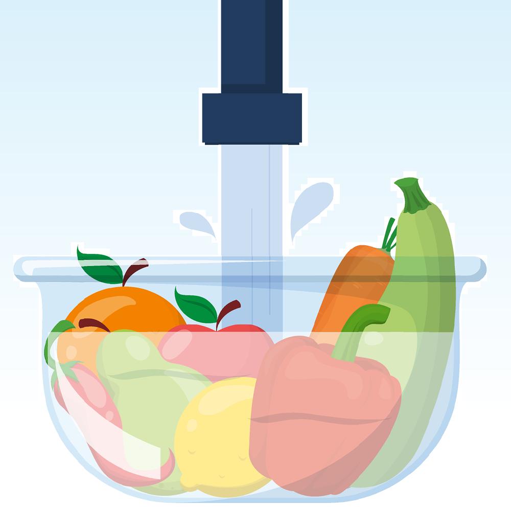 Transplant-Wissen > Nach der Transplantation > Nahrungsmittelhygiene nach Organtransplantation, Lebensmittel Hygiene Transplantation > Obst und Gemuese